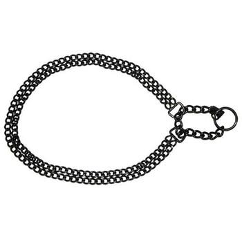 Herm Sprenger Black Stainless Steel Martingale Collars