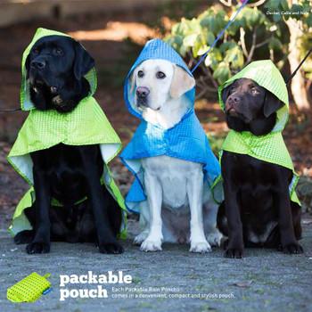 RC Pet Packable Rain Poncho