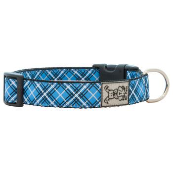 RC Collars Blue Tartan