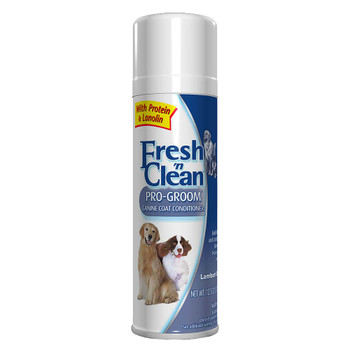 Fresh 'n Clean Pro-Groom Canine Coat Conditioner Aerosol Spray