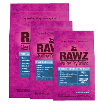 RAWZ Salmon and Chicken Dry Cat Food