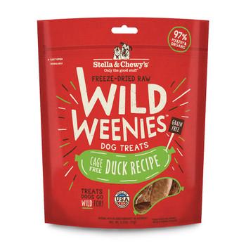Stella and Chewys Wild Weenies Duck Recipe