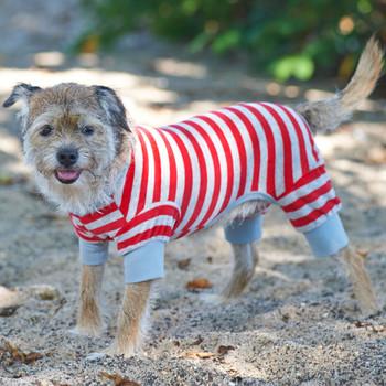 Red Striped Pajamas