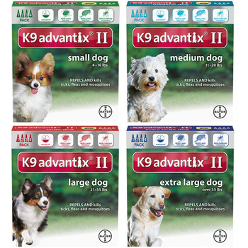 K9 Advantix II - 4 month supply