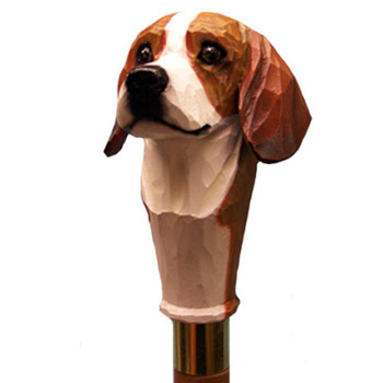 Dog Breed Walking Stick by Michael Park