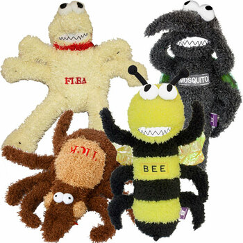Plush Pesky Pest Dog Toys
