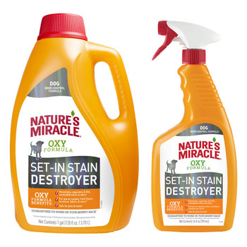 Natures Miracle Orange Oxy Power Stain and Odor Remover