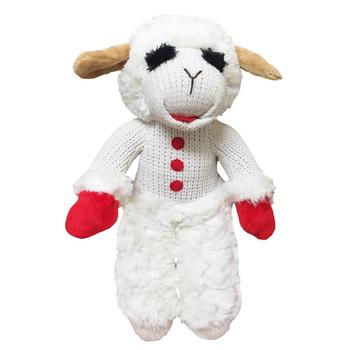 "Multipet Standing Lamb Chop Dog Toy 13"""