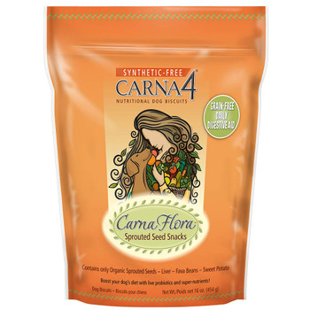 Carna4 Grain Free Sprouted Seed Biscuit Treats