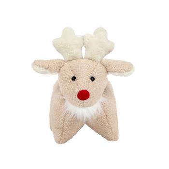 HuggleHounds Christmas Squooshie Plush Reindeer