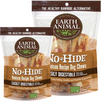 Earth Animal No Hide Venison Chew 2 Pack