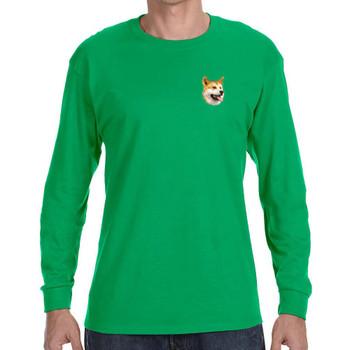 Bird Dawg Embroidered Gildan Long Sleeve Mens T-Shirts