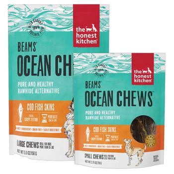 The Honest Kitchen Beams Ocean Chews Cod Skins