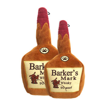 Lulubelle's Power Plush Barker's Mark Dog Toy