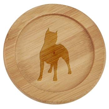 Cherrybrook Laser Engraved Bamboo Coaster Sets