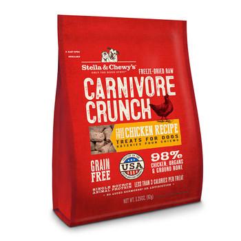 Stella and Chewys Chicken Carnivore Crunch Treats