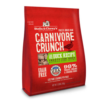 Stella and Chewys Duck Carnivore Crunch Treats