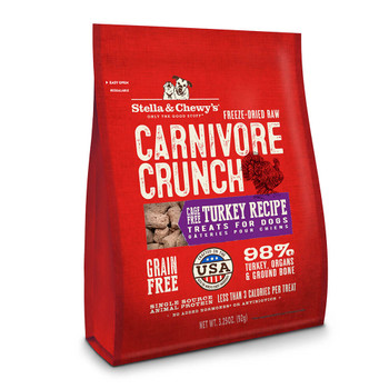 Stella and Chewys Turkey Carnivore Crunch Treats