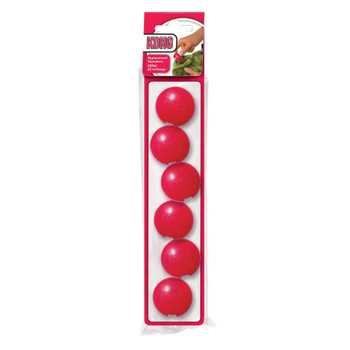 KONG Plastic Replacement Squeakers - 6 Pack