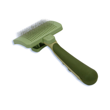Safari Cat Self Cleaning Slicker Brush