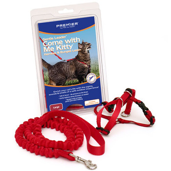 Premier Come With Me Kitty Harness and Bungee Leash