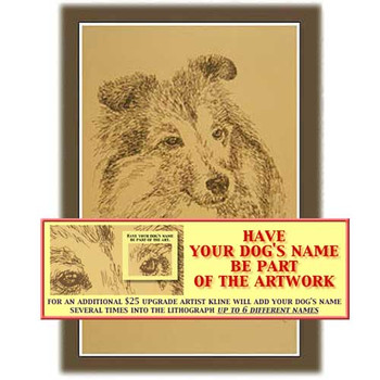Personalized Breed Lithographs