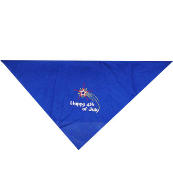 Bird Dawg Embroidered Fourth of July Bandana
