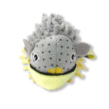 BeOneBreed Fugu Fish Plush Cat Toy