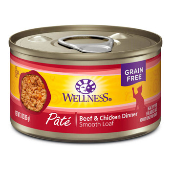 Wellness Beef and Chicken Canned Cat Food