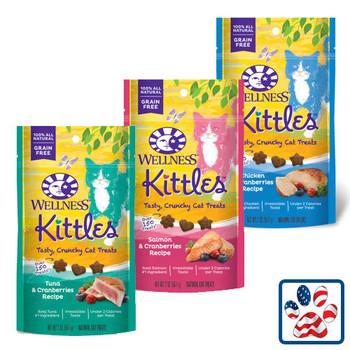 Wellness Kittles Crunchy Cat Treats