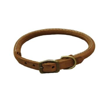 Coastal Rustic Chocolate Leather Collars