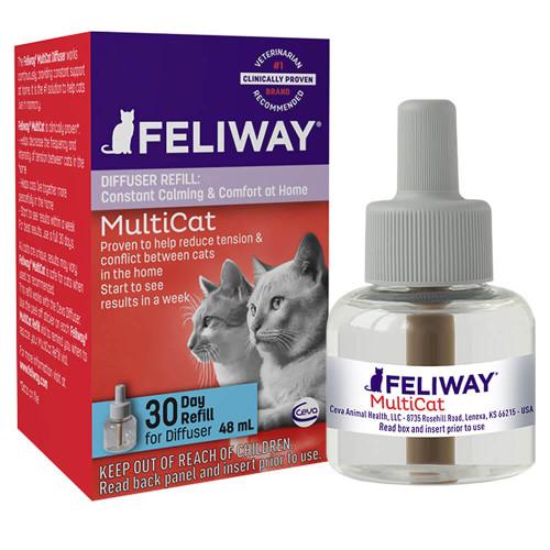 Feliway Multi-Cat Diffuser 30-Day Refill