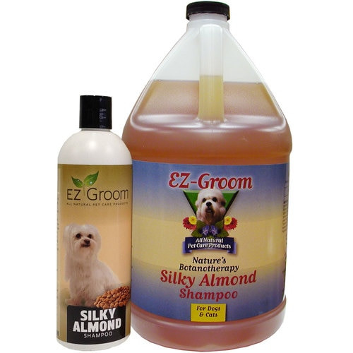 EZ Groom Silky Almond Dog Shampoo - Concentrated
