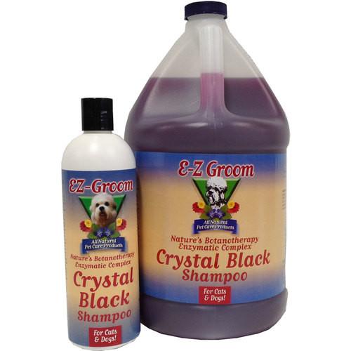EZ Groom Crystal Black Dog Shampoo - Concentrated
