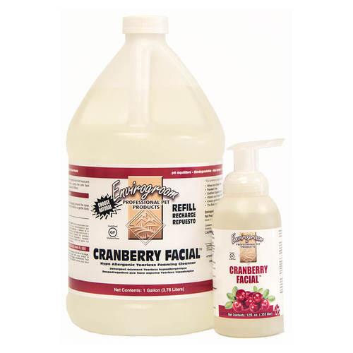 Envirogroom Cranberry Facial Tearless Facial Cleanser