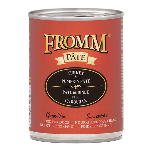 Fromm Pate Grain Free Turkey and Pumpkin Canned Dog Food