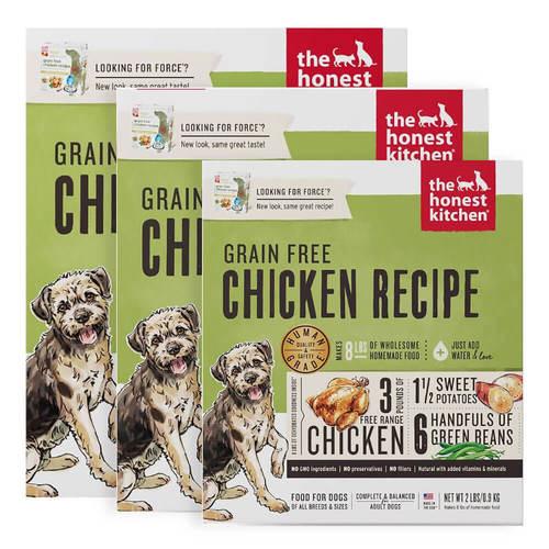 Honest Kitchen Grain Free Dehydrated Chicken Dog Food