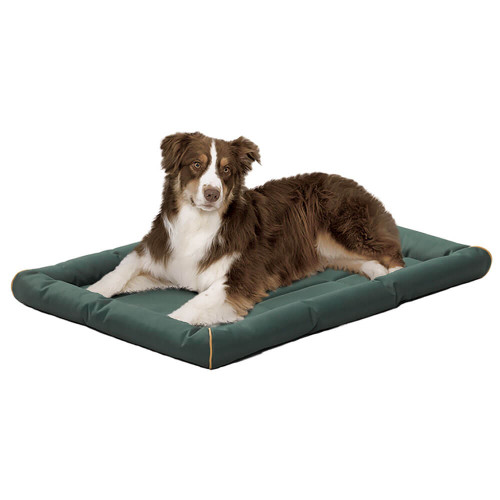 MidWest QuietTime Maxx Ultra-Rugged Pet Bed in Green