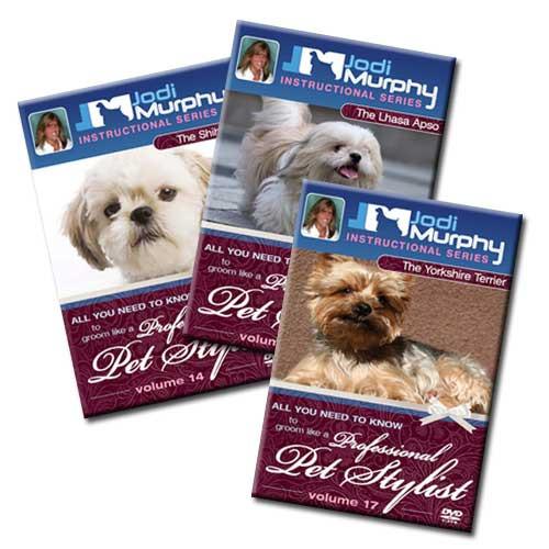 Jodi Murphy Dog Breed Grooming DVDs