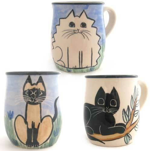 Karen Donleavy Cat Mugs