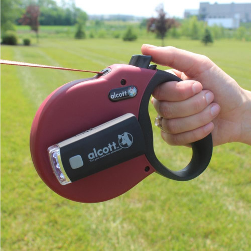 Alcott Retractable Leash Light Attached to Leash