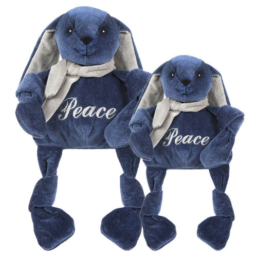 HuggleHounds Hanukkah Peace Rabbit Knottie