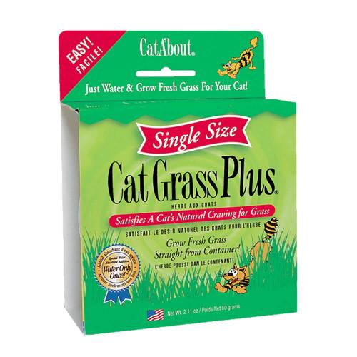 Cat About Cat Grass Plus Single Serve