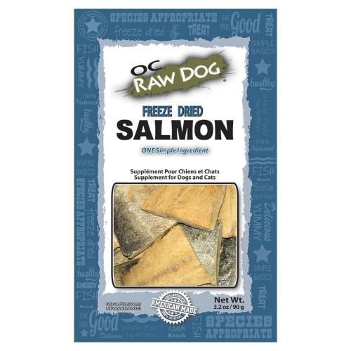 OC Raw Freeze Dried Salmon Treat