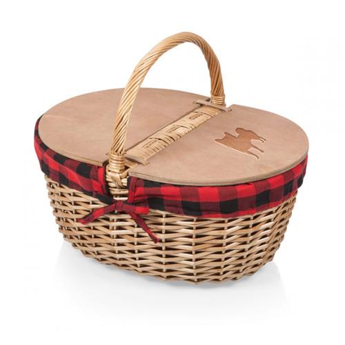Cherrybrook Laser-Engraved Country Picnic Basket