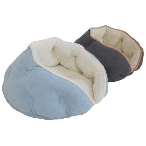 "Arlee Sleepy Pet Clam Shell Cat Bed 21"""