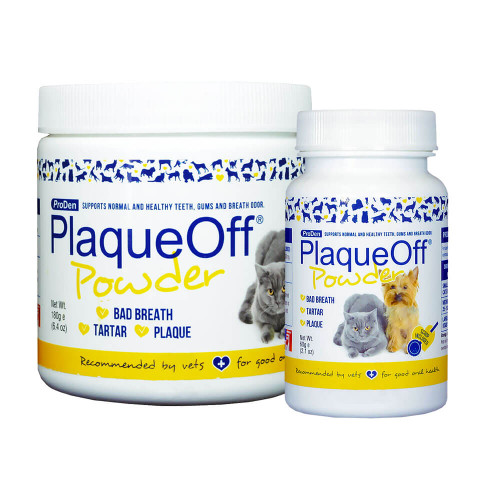 ProDen PlaqueOff Dental Powder for Dogs and Cats