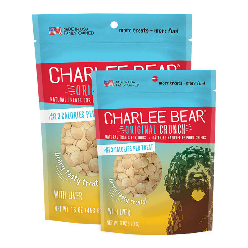Charlee Bear Original Crunch Treats - Liver