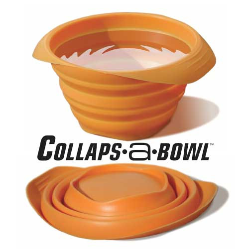 Kurgo Collaps-A-Bowl - Orange
