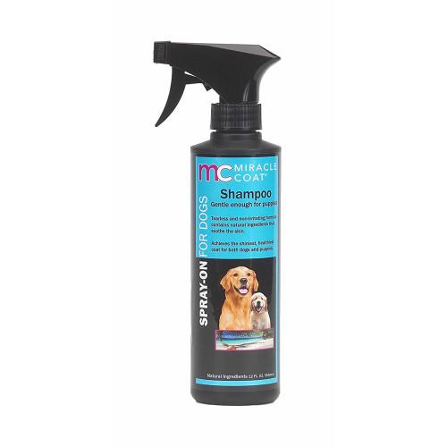 Miracle Coat Spray On Dog Shampoo 12oz